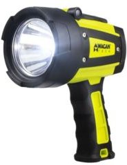 Wagan Brite-Nite 600 Lumen Led Spotlight with Adjustable Hanging Stand, Aa Battery