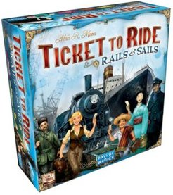 Ticket To Ride Rails and Sails Strategy Board Game
