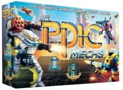 Tiny Epic Gamelyn Games Mechs Strategy Board Game: A Futuristic Arena Game