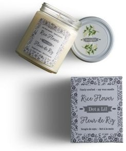 Rice Flower Soy Candle