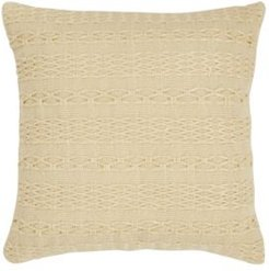 Tommy Bahama Island Essentials Cross Weave Canvas Throw Pillow