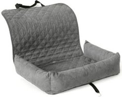 Quilted Bolster Pet Car Seat Cover