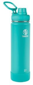 Actives Stainless Steel 22-Oz. Insulated Water Bottle with Spout Lid