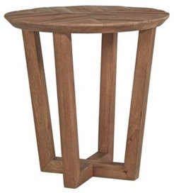 Kinnshee Contemporary Round End Table