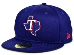 Texas Rangers 2020 Clubhouse 59FIFTY-fitted Cap