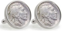 University of Miami 1925 Sterling Silver Nickel Coin Cuff Links