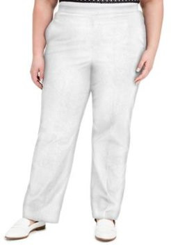 Plus Size Checkmate Pull-On Pants