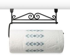 Scroll Over The Cabinet Paper Towel Holder