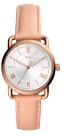 Copeland Blush Leather Strap Watch 34mm