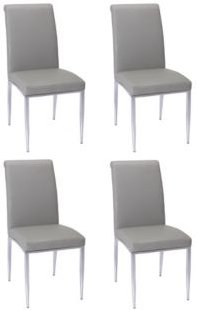 Alexis Rolled-Back Side Chair, Set of 4