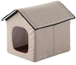 """""""Hush Puppy"""" Electronic Heating and Cooling Smart Collapsible Pet House"""