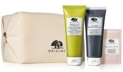 With any $55 Origins Purchase, Receive 3-Piece Free Gift plus an Origins Cosmetic Bag! (A $57 value!)