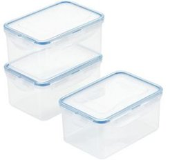 Purely Better 6-Pc. Rectangular Food Storage Containers, 37-Oz.