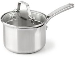 Classic Stainless Steel 1.5-Qt. Sauce Pan with Lid