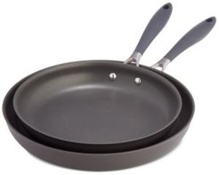 Hard-Anodized Nonstick Aluminum Fry Pans, Set of 2, Created for Macy's