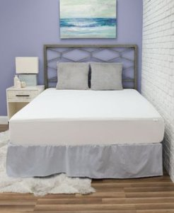 Fresh and Clean Mattress Protector with Ultra-Fresh Treated Fabric, Twin