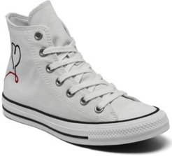 Chuck Taylor All Star High Top Made with Love Casual Sneakers from Finish Line