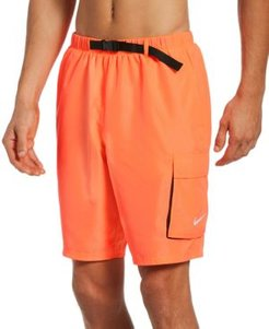 Swim Belted Packable Volley Shorts