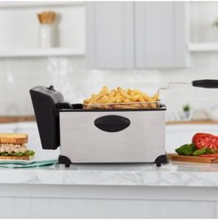Classic 3-l. Stainless Steel Deep Fryer