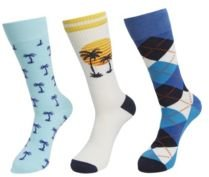 Mixed Socks, Pack of 3