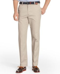 American Straight-Fit Flat Front Chino Pants