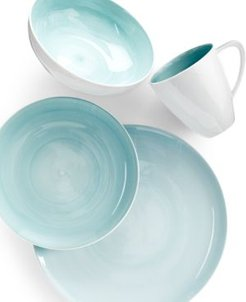 Savona Teal 4-Piece Place Setting