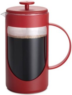 Ami-Matin 3-Cup Red French Press