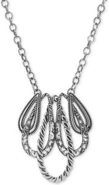 """Lasting Connections"""" Pendant Necklace in Sterling Silver"""""""
