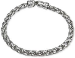 Wheat Chain Bracelet in Sterling Silver, Created for Macy's