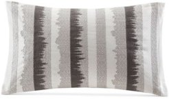 """Chet 12"""" x 20"""" Embroidered Oblong Decorative Pillow"""