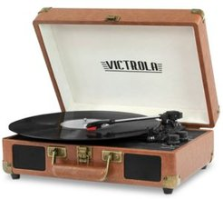 Victrola 3-Speed Bluetooth Suitcase Record Player