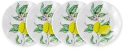 "Limonata 4-Pc. Melamine 5.5"" Appetizer Plate Set"