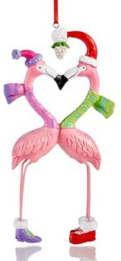 Florida Flamingo Champagne Cup Ornament Created for Macy's