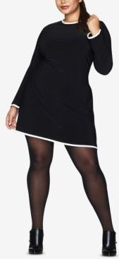 Curves Plus Size Opaque Tights