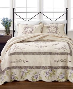 Midland Vine 100% Cotton Twin Bedspread, Created for Macy's