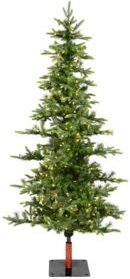 7' Shawnee Fir Artificial Christmas Tree with 350 Warm White Led Lights