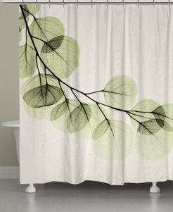 Green Leaves Shower Curtain Bedding
