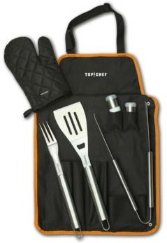 7-Pc. Bbq Set with Carrying Case