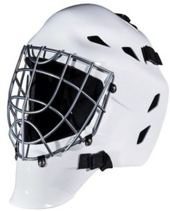Gfm 1500 White Goalie Face Mask