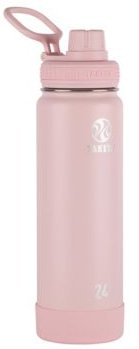 Actives 24oz Insulated Stainless Steel Water Bottle with Insulated Spout Lid