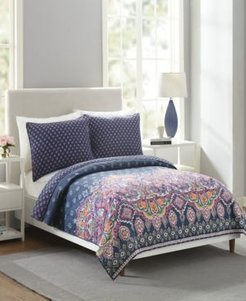 Sedona Medallion Twin Quilt