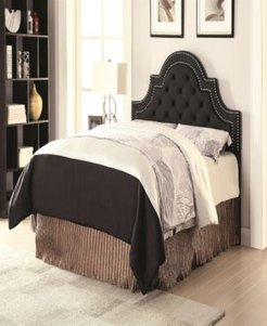 Shannon Traditional Upholstered King Headboard