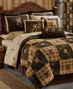 Browning Country Queen Comforter Set Bedding