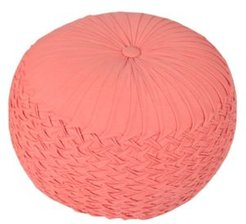 Hand Loomed Reef Pouf