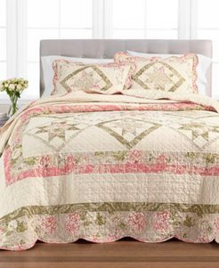 Star Patchwork Twin Bedspread, Created for Macy's