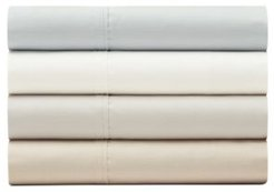 Percale Solid 6 Piece King Sheet Set, 400 Thread Count Combed Cotton Blend Bedding