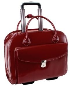 "Granville, 15"" Wheeled Ladies Laptop Briefcase"