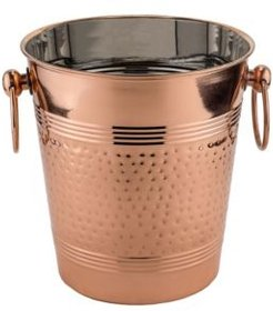 "International ""Fez"" Decor Copper Hammered Wine Cooler"