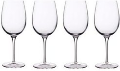 Glassware, Set of 4 Crescendo Bordeaux Glasses
