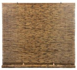 """Peeled and Polished Reed Cord Free Roll-Up Shade, 60"""" x 72"""""""